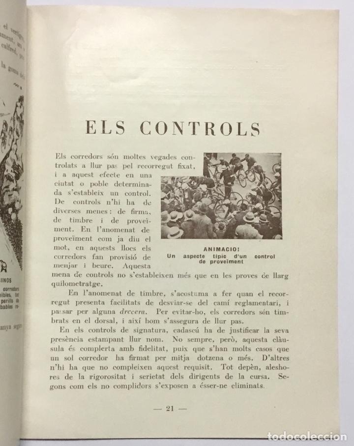Coleccionismo deportivo: ELS GEGANTS DE LA RUTA. Abellà Masdeu, Pere. Barcelona, 1932. 39 pag. Ilustrado por Mestres. Fotos - Foto 6 - 186434630