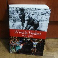 Coleccionismo deportivo: VIVA LA VUELTA 1935-2012 CULTURA CICLISTA LUCY FALLON-ADRIAN BELL. Lote 188609162