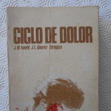 Coleccionismo deportivo: CICLO DE DOLOR. J. M. FUENTE / J. L. ALVAREZ ZARAGOZA. BIOGRAFIA DEL INOLVIDABLE CICLISTA JOSE MANUE. Lote 189543190