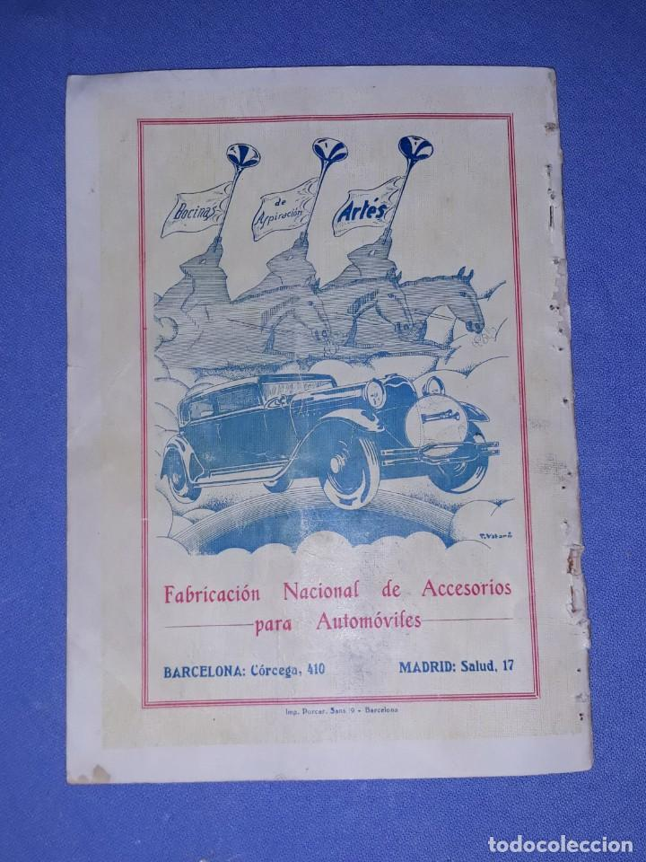 Coleccionismo deportivo: PROGRAMA OFICIAL XVII VOLTA CICLISTA INTERNACIONAL A CATALUNYA PREMI GENERALITAT AÑO 1935 ORIGINAL - Foto 6 - 191028258