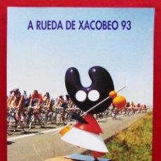 Coleccionismo deportivo: A RUEDA DE XACOBERO 93. MONDELO. CICLISMO. CICLISTA. BUEN ESTADO.. Lote 191776145