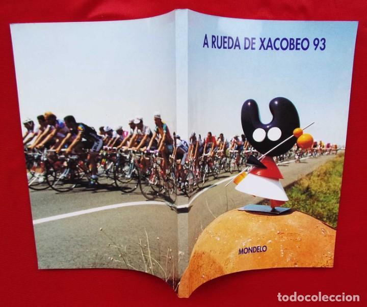 Coleccionismo deportivo: A RUEDA DE XACOBERO 93. MONDELO. CICLISMO. CICLISTA. BUEN ESTADO. - Foto 2 - 191776145