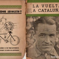 Coleccionismo deportivo: LA VUELTA A CATALUÑA - HISTORIAL (1939). Lote 193741995