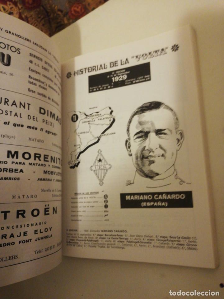 Coleccionismo deportivo: 51 VOLTA A CATALUÑA , PROGRAMA OFICIAL 14-19 SEPTIEMBRE 1971, - Foto 4 - 193772406