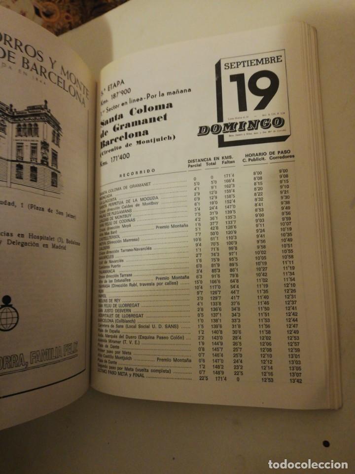 Coleccionismo deportivo: 51 VOLTA A CATALUÑA , PROGRAMA OFICIAL 14-19 SEPTIEMBRE 1971, - Foto 6 - 193772406