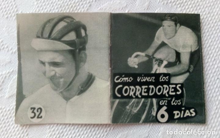 Coleccionismo deportivo: MINILIBRO EDITORIAL DEPORTIVA FHER Nº 32 - COMO VIVEN LOS CORREDORES EN LOS 6 DÍAS - AÑOS 50. - Foto 3 - 193837246