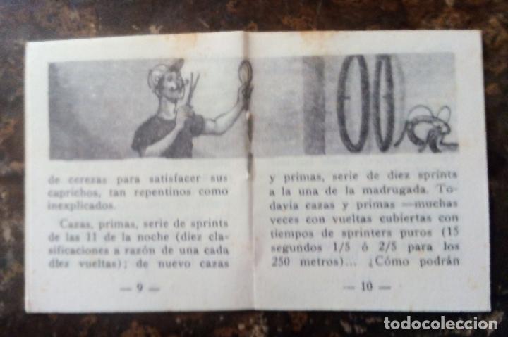 Coleccionismo deportivo: MINILIBRO EDITORIAL DEPORTIVA FHER Nº 32 - COMO VIVEN LOS CORREDORES EN LOS 6 DÍAS - AÑOS 50. - Foto 5 - 193837246