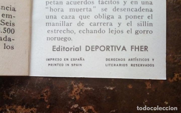 Coleccionismo deportivo: MINILIBRO EDITORIAL DEPORTIVA FHER Nº 32 - COMO VIVEN LOS CORREDORES EN LOS 6 DÍAS - AÑOS 50. - Foto 6 - 193837246