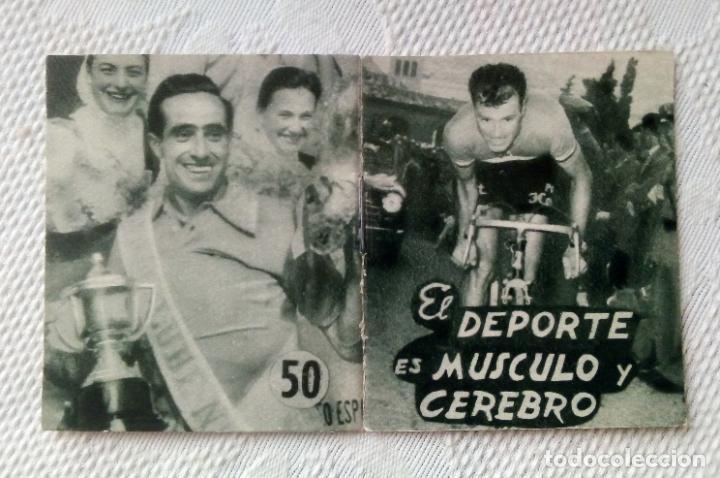Coleccionismo deportivo: MINILIBRO EDITORIAL DEPORTIVA FHER Nº 50 - EL DEPORTE EL MÚSCULO Y EL CEREBRO - AÑOS 50. - Foto 3 - 193842298