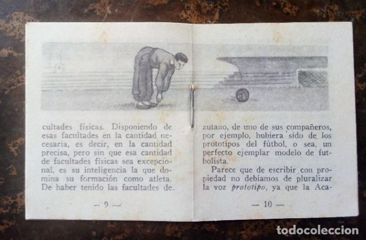 Coleccionismo deportivo: MINILIBRO EDITORIAL DEPORTIVA FHER Nº 50 - EL DEPORTE EL MÚSCULO Y EL CEREBRO - AÑOS 50. - Foto 5 - 193842298