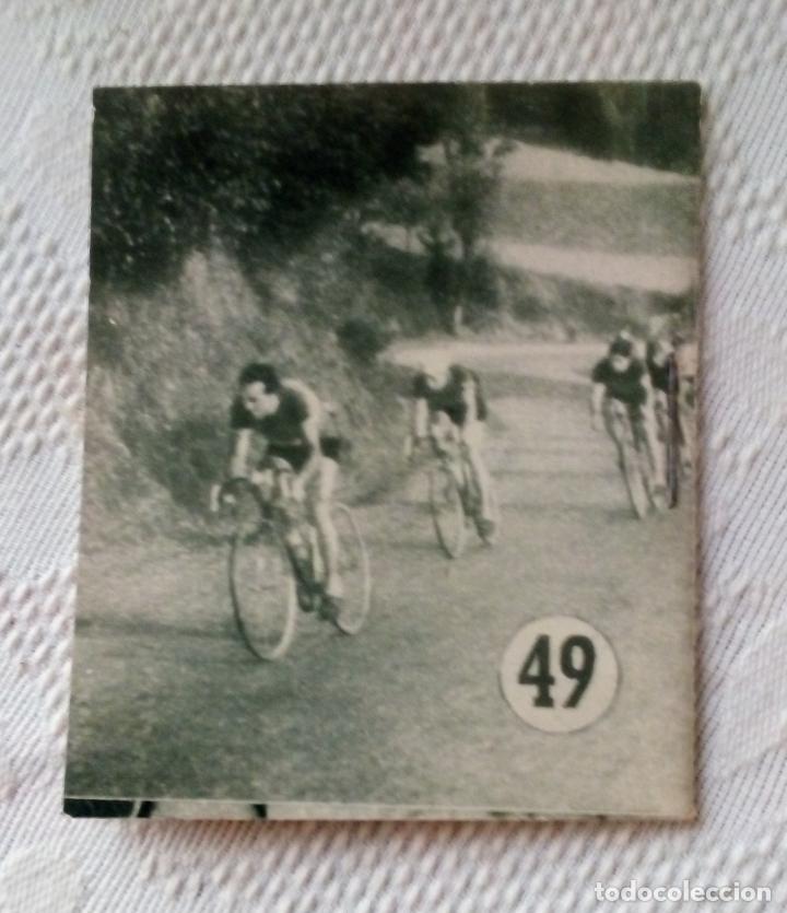 Coleccionismo deportivo: MINILIBRO EDITORIAL DEPORTIVA FHER Nº 49 - FAUSTO COPPI - AÑOS 50. - Foto 2 - 193843037
