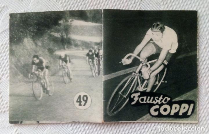 Coleccionismo deportivo: MINILIBRO EDITORIAL DEPORTIVA FHER Nº 49 - FAUSTO COPPI - AÑOS 50. - Foto 3 - 193843037