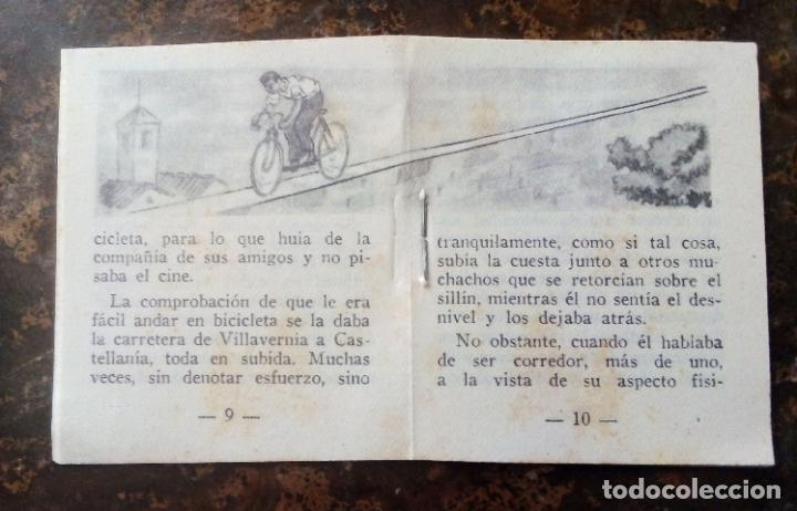 Coleccionismo deportivo: MINILIBRO EDITORIAL DEPORTIVA FHER Nº 49 - FAUSTO COPPI - AÑOS 50. - Foto 5 - 193843037