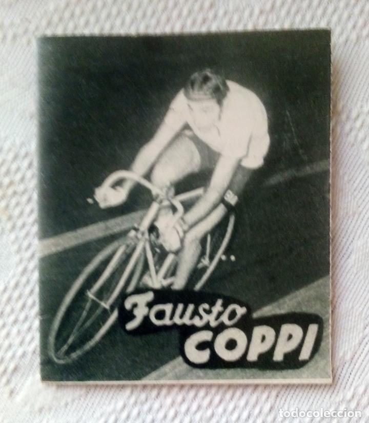 MINILIBRO EDITORIAL DEPORTIVA FHER Nº 49 - FAUSTO COPPI - AÑOS 50. (Coleccionismo Deportivo - Libros de Ciclismo)
