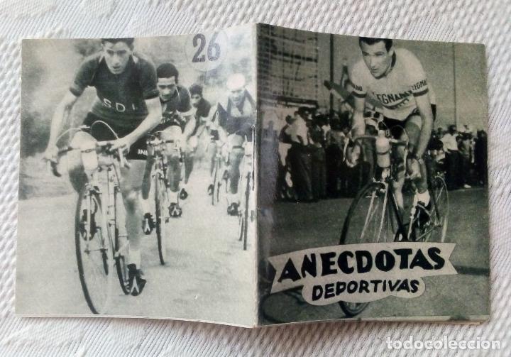 Coleccionismo deportivo: MINILIBRO EDITORIAL DEPORTIVA FHER Nº 26 - ANECDOTAS DEPORTIVAS - AÑOS 50. - Foto 3 - 193844976