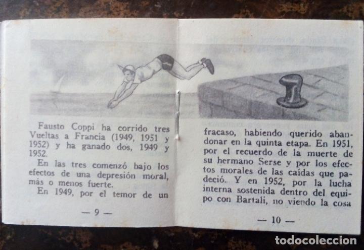 Coleccionismo deportivo: MINILIBRO EDITORIAL DEPORTIVA FHER Nº 26 - ANECDOTAS DEPORTIVAS - AÑOS 50. - Foto 5 - 193844976