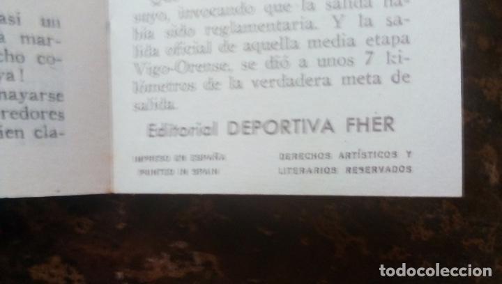 Coleccionismo deportivo: MINILIBRO EDITORIAL DEPORTIVA FHER Nº 26 - ANECDOTAS DEPORTIVAS - AÑOS 50. - Foto 6 - 193844976