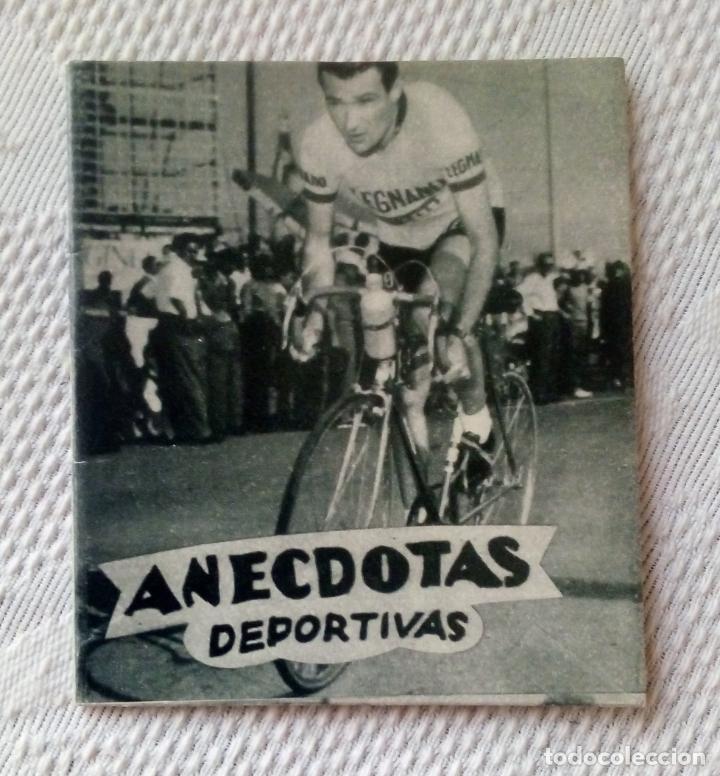 MINILIBRO EDITORIAL DEPORTIVA FHER Nº 26 - ANECDOTAS DEPORTIVAS - AÑOS 50. (Coleccionismo Deportivo - Libros de Ciclismo)