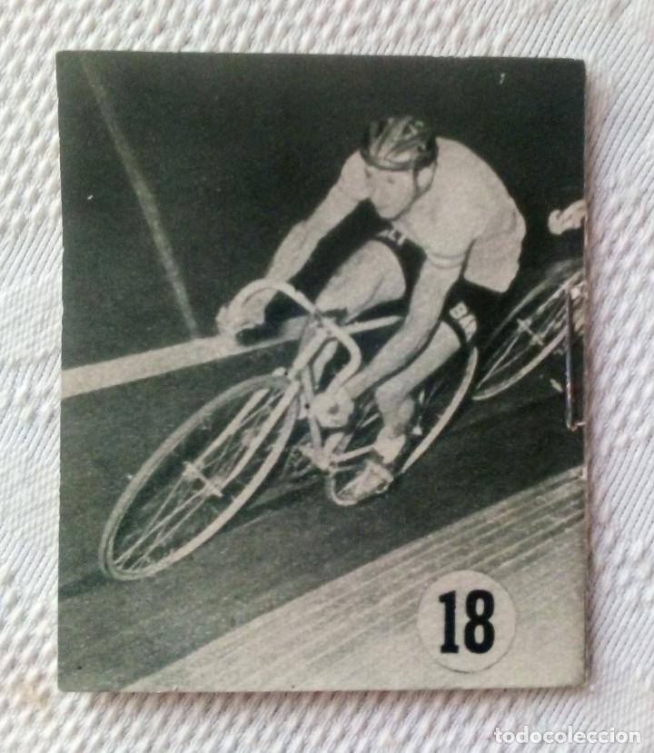 Coleccionismo deportivo: MINILIBRO EDITORIAL DEPORTIVA FHER Nº 18 - LA RIVALIDAD COPPI - BARTALI - AÑOS 50. - Foto 2 - 193845648