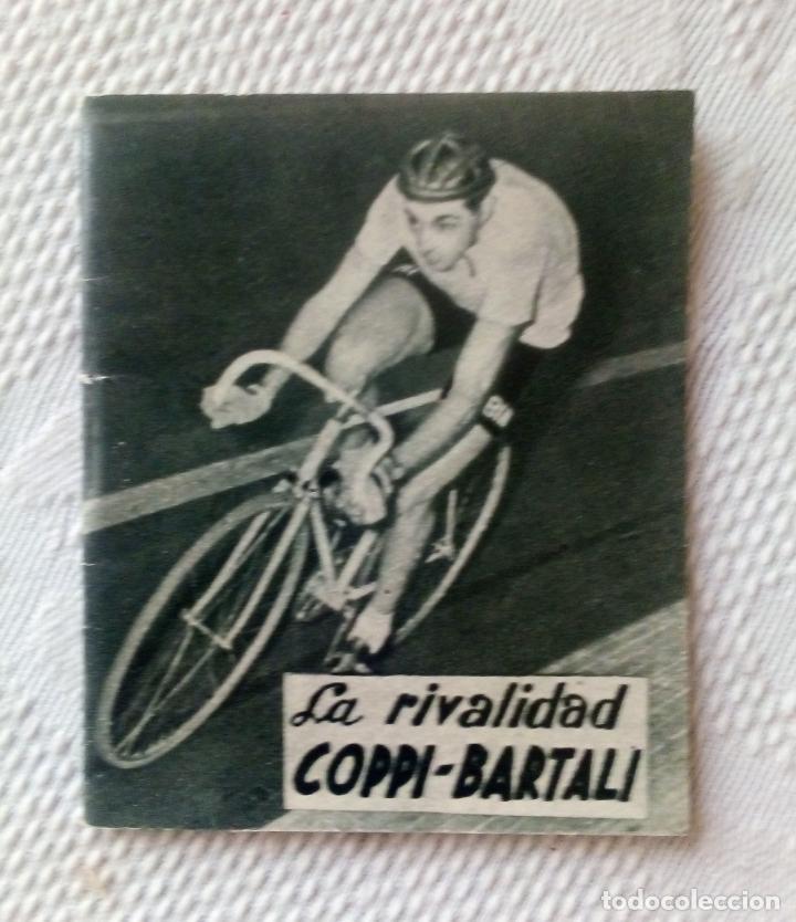 MINILIBRO EDITORIAL DEPORTIVA FHER Nº 18 - LA RIVALIDAD COPPI - BARTALI - AÑOS 50. (Coleccionismo Deportivo - Libros de Ciclismo)