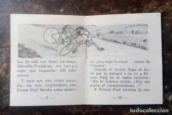 Coleccionismo deportivo: MINILIBRO EDITORIAL DEPORTIVA FHER Nº 14 - MISERIAS Y GRANDEZAS DEL TOUR - AÑOS 50. - Foto 5 - 193846557
