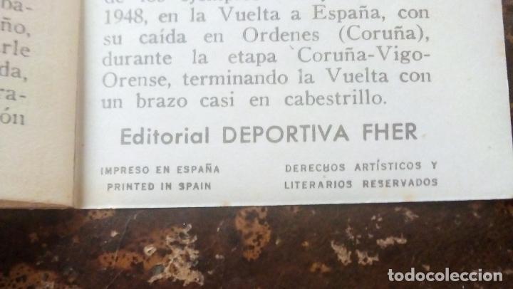 Coleccionismo deportivo: MINILIBRO EDITORIAL DEPORTIVA FHER Nº 14 - MISERIAS Y GRANDEZAS DEL TOUR - AÑOS 50. - Foto 6 - 193846557
