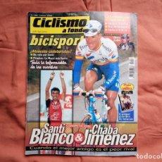 Coleccionismo deportivo: CICLISMO A FONDO BICISPORT JUNIO 98. Nº 163. CHAVA JIMÉNEZ. Lote 194178727