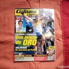 Coleccionismo deportivo: CICLISMO A FONDO Nº 228 2003. IGOR ASTARLOA, SOMARRIBA. PÓSTER ROBERTO HERAS. Lote 194179888
