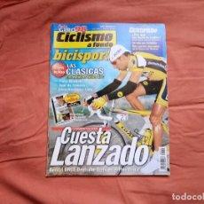 Coleccionismo deportivo: CICLISMO A FONDO BICISPORT MAYO 98 Nº 162. ÍÑIGO CUESTA. Lote 194266956