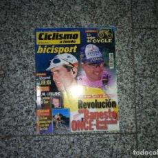Coleccionismo deportivo: CICLISMO A FONDO BICISPORT DICIEMBRE 98 Nº 169. OLANO, ZULLE. Lote 194405896