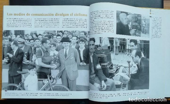 Coleccionismo deportivo: ANTOLOGÍA FOTOGRÁFICA DEL CICLISMO. 500 IMÁGENES CON HISTORIA. Tomo I. LIBRO TAPA DURA. 2004 - Foto 2 - 198469166