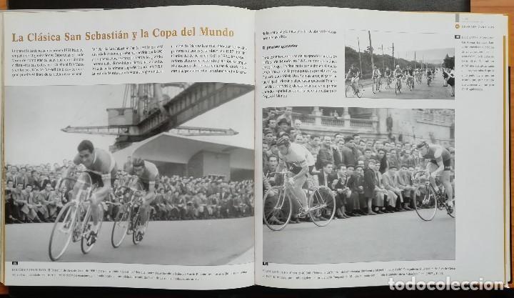 Coleccionismo deportivo: ANTOLOGÍA FOTOGRÁFICA DEL CICLISMO. 500 IMÁGENES CON HISTORIA. Tomo I. LIBRO TAPA DURA. 2004 - Foto 3 - 198469166