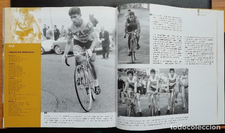 Coleccionismo deportivo: ANTOLOGÍA FOTOGRÁFICA DEL CICLISMO. 500 IMÁGENES CON HISTORIA. Tomo I. LIBRO TAPA DURA. 2004 - Foto 4 - 198469166