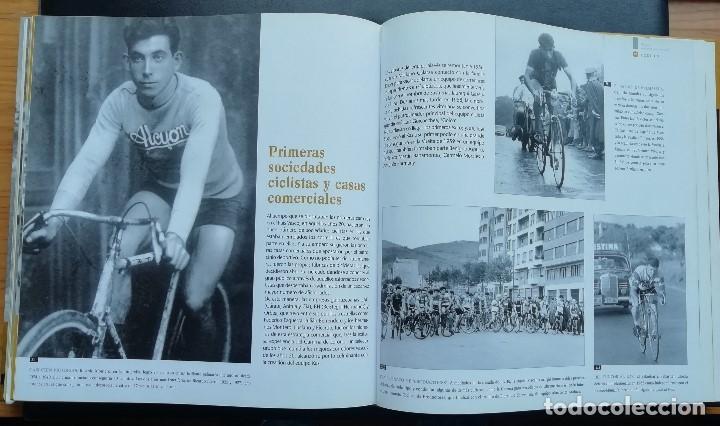 Coleccionismo deportivo: ANTOLOGÍA FOTOGRÁFICA DEL CICLISMO. 500 IMÁGENES CON HISTORIA. Tomo I. LIBRO TAPA DURA. 2004 - Foto 6 - 198469166