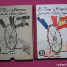 Coleccionismo deportivo: TOUR DE FRANCIA Y VUELTA CICLISTA A ESPAÑA 1957 C55. Lote 199424295