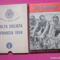 Coleccionismo deportivo: TOUR DE FRANCIA Y VUELTA CICLISTA A FRANCIA COPPI Y KOBLET 1957 C55. Lote 199424743