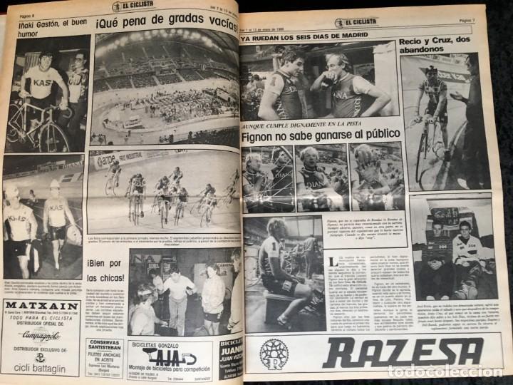 Coleccionismo deportivo: EL CICLISTA - PRIMER SEMANARIO NACIONAL DE CICLISMO - TOMO VI - 1986 - VUELTA ESPAÑA - ALVARO PINO - Foto 5 - 199791837