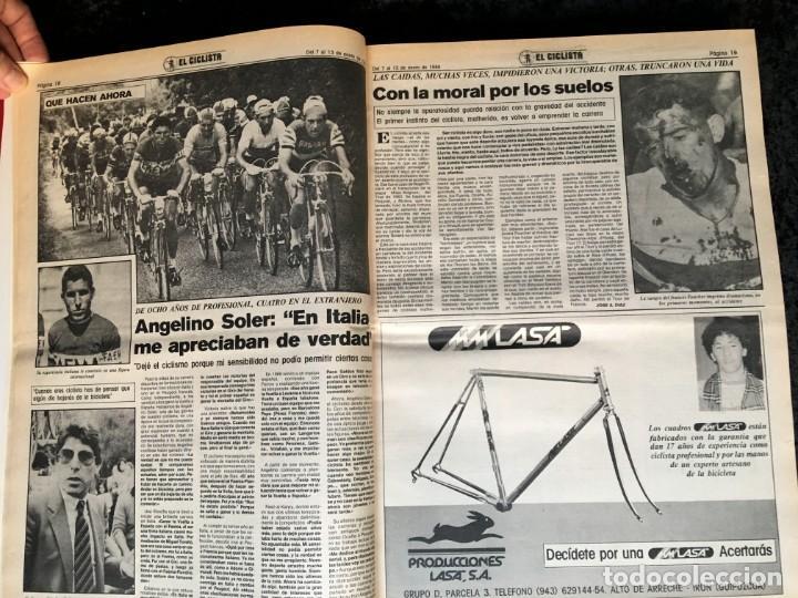 Coleccionismo deportivo: EL CICLISTA - PRIMER SEMANARIO NACIONAL DE CICLISMO - TOMO VI - 1986 - VUELTA ESPAÑA - ALVARO PINO - Foto 6 - 199791837
