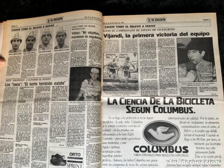 Coleccionismo deportivo: EL CICLISTA - PRIMER SEMANARIO NACIONAL DE CICLISMO - TOMO VI - 1986 - VUELTA ESPAÑA - ALVARO PINO - Foto 7 - 199791837