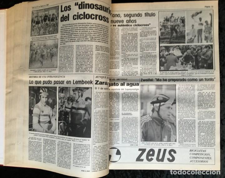 Coleccionismo deportivo: EL CICLISTA - PRIMER SEMANARIO NACIONAL DE CICLISMO - TOMO VI - 1986 - VUELTA ESPAÑA - ALVARO PINO - Foto 14 - 199791837