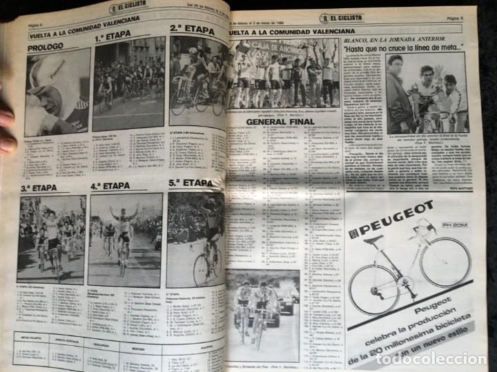 Coleccionismo deportivo: EL CICLISTA - PRIMER SEMANARIO NACIONAL DE CICLISMO - TOMO VI - 1986 - VUELTA ESPAÑA - ALVARO PINO - Foto 21 - 199791837