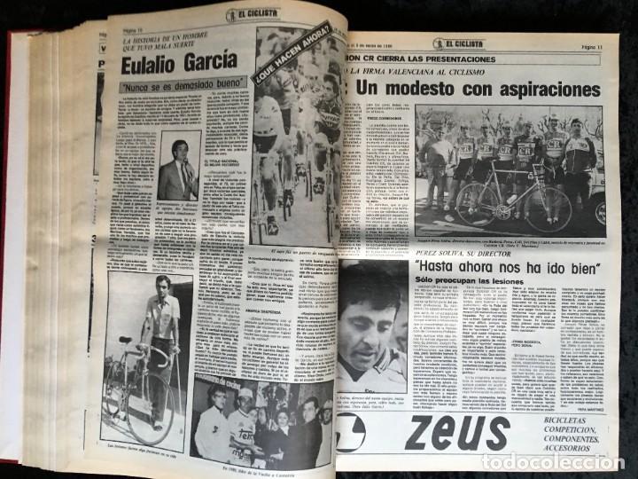 Coleccionismo deportivo: EL CICLISTA - PRIMER SEMANARIO NACIONAL DE CICLISMO - TOMO VI - 1986 - VUELTA ESPAÑA - ALVARO PINO - Foto 22 - 199791837