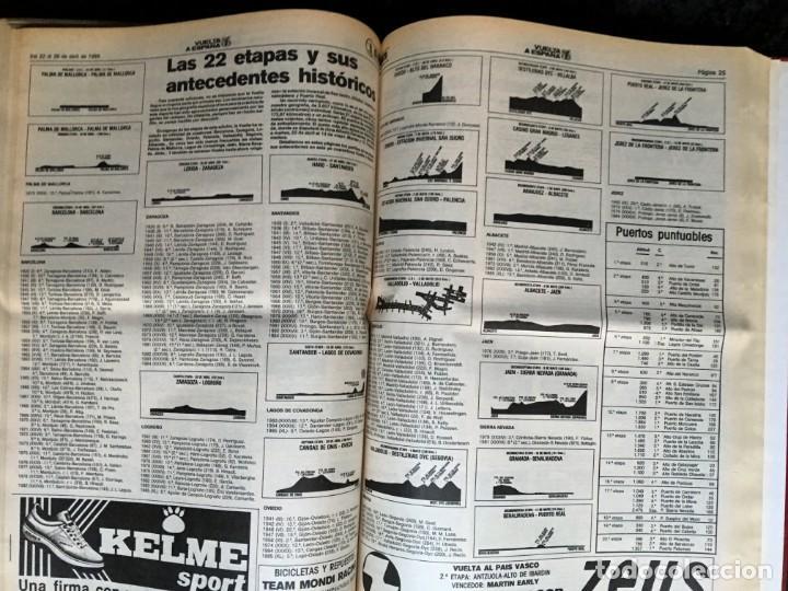 Coleccionismo deportivo: EL CICLISTA - PRIMER SEMANARIO NACIONAL DE CICLISMO - TOMO VI - 1986 - VUELTA ESPAÑA - ALVARO PINO - Foto 29 - 199791837