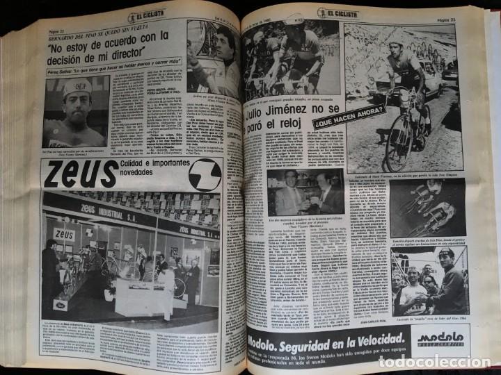 Coleccionismo deportivo: EL CICLISTA - PRIMER SEMANARIO NACIONAL DE CICLISMO - TOMO VI - 1986 - VUELTA ESPAÑA - ALVARO PINO - Foto 30 - 199791837