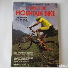 Coleccionismo deportivo: LIBRO, CURSO MOUNTAIN BIKE, VECCHI 1992.. Lote 203157158