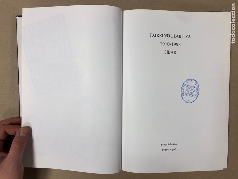 Coleccionismo deportivo: TXIRRINDULARITZA EIBAR (1910 - 1993). JUANJO SEBASTIÁN - BEGOÑA AZPIRI. CLUB CICLISTA EIBARRES - Foto 2 - 204526200