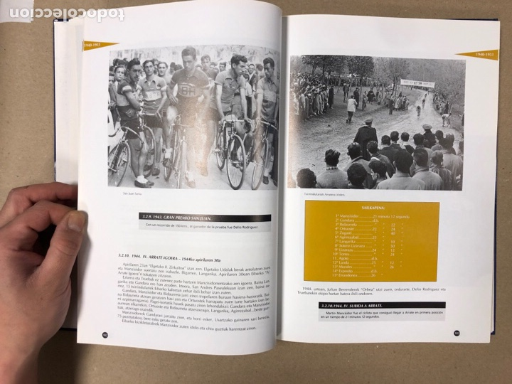 Coleccionismo deportivo: TXIRRINDULARITZA EIBAR (1910 - 1993). JUANJO SEBASTIÁN - BEGOÑA AZPIRI. CLUB CICLISTA EIBARRES - Foto 5 - 204526200
