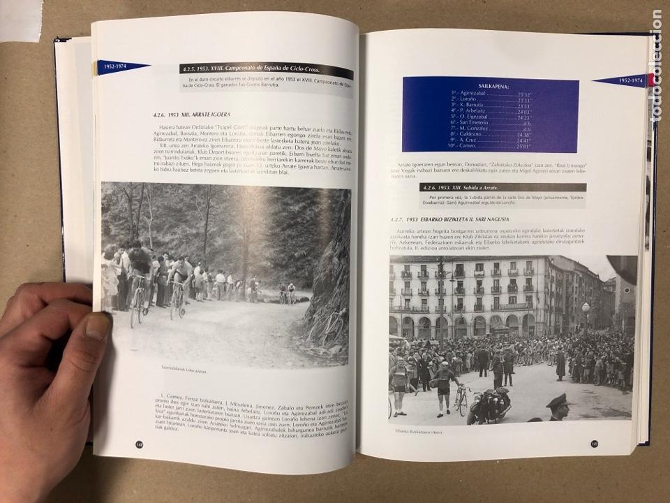 Coleccionismo deportivo: TXIRRINDULARITZA EIBAR (1910 - 1993). JUANJO SEBASTIÁN - BEGOÑA AZPIRI. CLUB CICLISTA EIBARRES - Foto 6 - 204526200