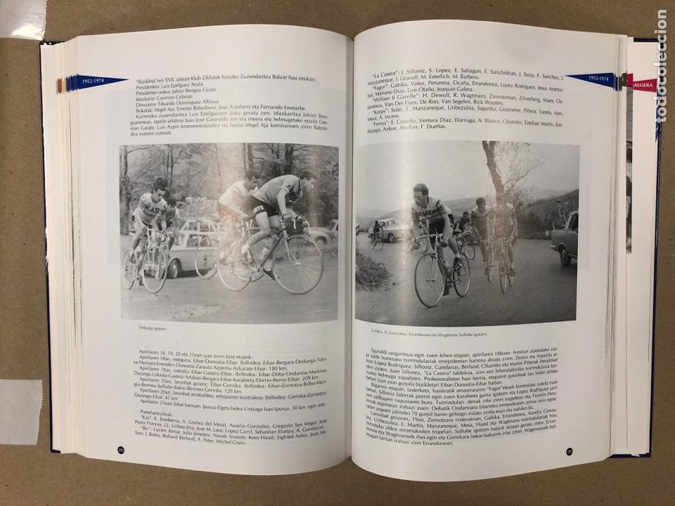 Coleccionismo deportivo: TXIRRINDULARITZA EIBAR (1910 - 1993). JUANJO SEBASTIÁN - BEGOÑA AZPIRI. CLUB CICLISTA EIBARRES - Foto 8 - 204526200