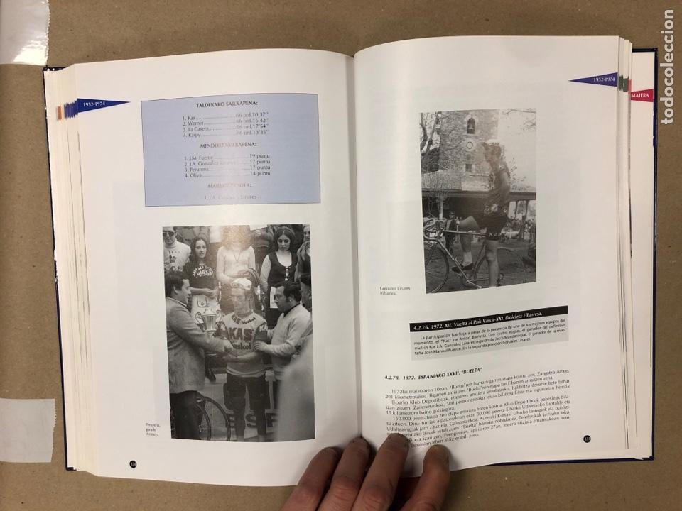 Coleccionismo deportivo: TXIRRINDULARITZA EIBAR (1910 - 1993). JUANJO SEBASTIÁN - BEGOÑA AZPIRI. CLUB CICLISTA EIBARRES - Foto 9 - 204526200